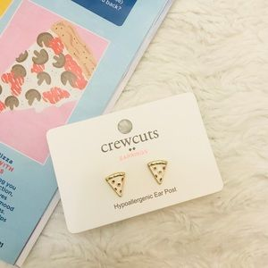 J.Crew Pizza Earrings 🍕
